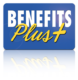 Benefits Plus Logo with Shadow